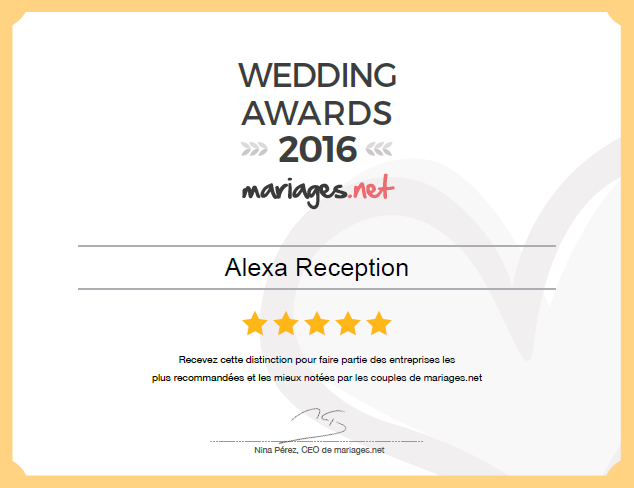WeddingAwardsMariagesnet2016